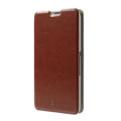 Plånboksfodral till Sony Xperia E4g - Brun