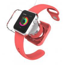 VCOERVCOER Skyddande laddningsskal till Apple Watch 38mm / 42mm - Röd
