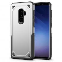 A-One BrandHybrid Rugged Armor Skal till Samsung Galaxy S9 Plus - Silver