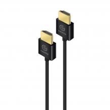 ALOGICALOGIC supertunn HDMI-kabel med stöd för Ethernet ver 2.0b - 2m