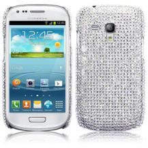 TerrapinBling Bling Skal till Samsung Galaxy S3 mini i8190 (Silver)