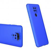 GKKGKK 360 Protection Fram bak skal Redmi 10X 4G/Redmi Note 9 Blå