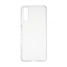 EssentialsEssentials – TPU Skal Sony Xperia 10 III - Transparent