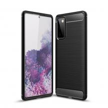 DG.MINGCarbon Fibre Mobilskal Galaxy S20 FE - Svart