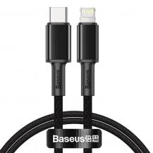 BASEUSBaseus USB Type C - lightning Kabel 20 W 1 m Svart
