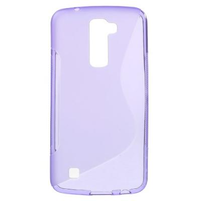 S-Curve Mobilskal till LG K10 - Lila