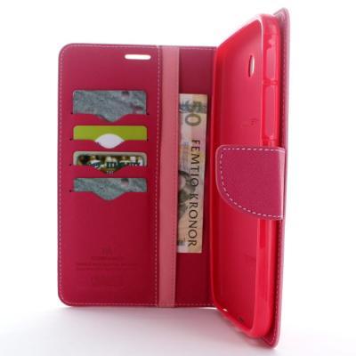 Mercury Fancy Diary Plånboksfodral till Samsung Galaxy Tab 3 7,0 (Rosa)