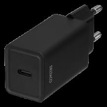 DeltacoDELTACO USB-C väggladdare med PD, 18 W