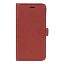 EssentialsEssentials Läder wallet till iPhone XR - Röd