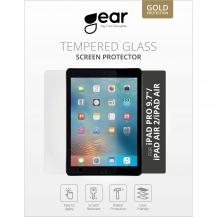 "GEARGEAR Härdat Glas 2.5D iPad Air/Air2/New/Pro 9,7"""
