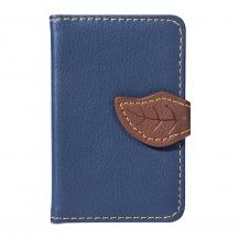 OEMLeaf kreditkortshållare för smartphones - Blå