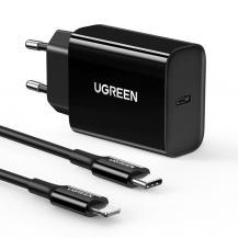 UgreenUgreen Travel Väggladdare Type-c Kabel USB Type-C 20W - Svart