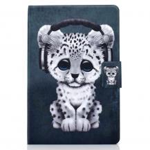 """A-One BrandFodral med Stativfunktion för iPad 10.2"""" 2019 - Leopard"""