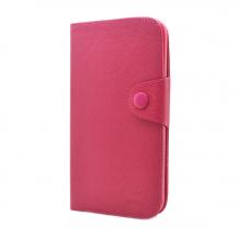 MLTMLT Plånboksfodral till Samsung Galaxy Mega i9200 (Magenta)