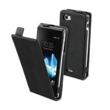MuvitMuvit Slim Flip Case Sony Xperia J (Svart)