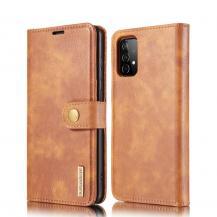 DG.MINGDG.MING 2-in-1 Plånboksfodral Galaxy A52 5G - Brun