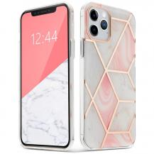 Tech-ProtectTech-Protect | Marmer Mobilskal iPhone 12 & 12 Pro - Rosa