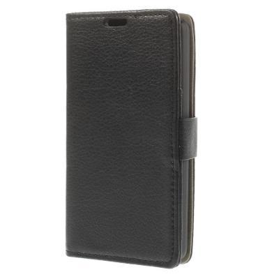 Plånboksfodral till LG L Fino - Svart