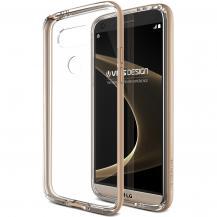 VERUSVerus Crystal Bumper Skal till LG G5 - Shine Gold