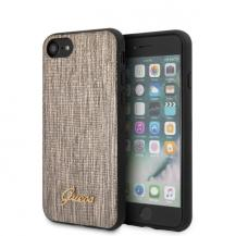 GuessGUESS iPhone 7/8 / SE 2020 Lizard Collection - Guld