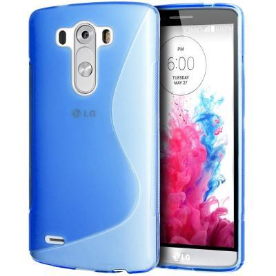 FlexiCase Skal till LG G3 (Blå)