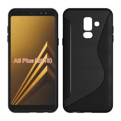 Flexicase Mobilskal Till Samsung Galaxy A6 Plus (2018) - Svart