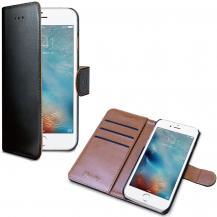 CellyCelly Plånboksfodral till iPhone 7/8/SE 2020 - Svart/Beige