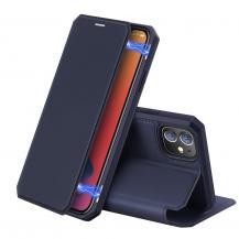 Dux DucisDux Ducis Plånboksfodral iPhone 12 & 12 Pro - Blå