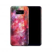 Skal till Samsung Galaxy S8 Plus - Rymden - Rosa