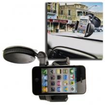 Universal Windshield Mobilhållare för bilen - Svart