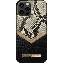 iDeal of SwedenIDeal Atelier Skal iPhone 12 Pro Max - Midnight Python