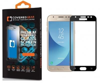 CoveredGear härdat glas skärmskydd till Galaxy J3 (2017) - Svart