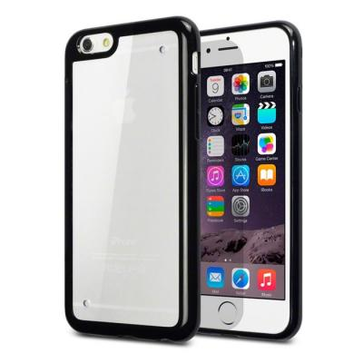 Terrapin Bumper Edge FlexiCase skal till Apple iPhone 6 / 6S (Svart)