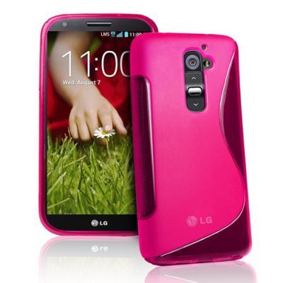 FlexiCase Skal till LG G2 (Magenta)