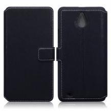 Slimmat Plånboksfodral till Microsoft Lumia 850 - Svart