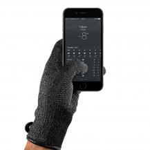 MujjoMujjo Double-Layered Touchscreen Gloves, Large - Svart