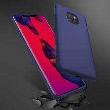 A-One BrandTwill Texture Flexicase Skal till Huawei Mate 20 Pro - Blå