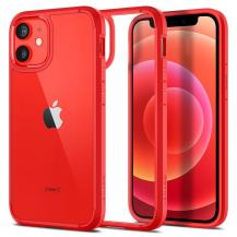 SpigenSPIGEN Ultra Hybrid mobilskal iPhone 12 Mini Röd
