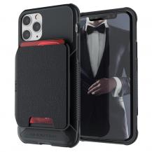 GhostekGhostek - Magnetic Wallet Korthållare Skal iPhone 12 & 12 Pro - Svart