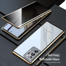 Magnetic Metal Skal till Galaxy Note 20 Ultra - Gold