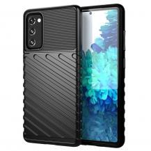 OEMThunder Twill Texture Mobilskal Samsung Galaxy S20 FE - Svart