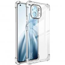 ImakIMAK - Mobilskal + skärmskydd Til Xiaomi Mi 11 - Transparent