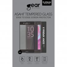 GEARGEAR Edge to Edge Härdat Glas 3D Xperia X - Svart