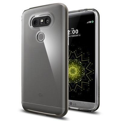 SPIGEN Neo Hybrid Crystal Skal till LG G5 - Gunmetal
