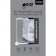 GEARGEAR Härdat Glas 3D Full Cover Samsung S8 Plus - Vit