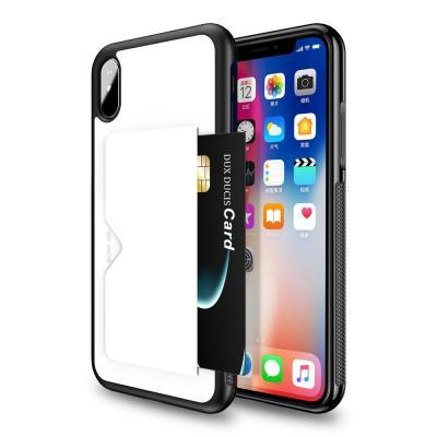 Dux Ducis Pocard Skal till Apple iPhone XR - Vit