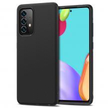 A-One BrandTwill Texture Flexicase Skal till Galaxy A52 5G - Blå