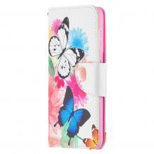 A-One BrandPlånboksfodral till Samsung Galaxy S21 Ultra - Fjärilar
