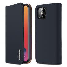 Dux DucisDUX DUCIS Äkta Läder Plånboksfodral iPhone 12 Pro Max - Blå