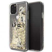KARL LAGERFELDKarl Lagerfeld iPhone 11 Pro Max skal Glitter Svart guld